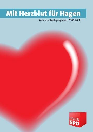Kommunalwahlprogramm 2009 - SPD-Unterbezirk Hagen