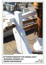 Efterretninger nr. 92, april 2005 - Jensine af Haderslev