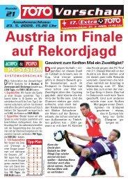 Austria im Finale auf Rekordjagd - win2day