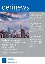 Bulletin de marché Go Urban – l'urbanisation chinoise ... - Raiffeisen