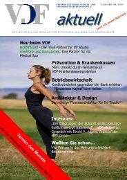 VDF aktuell Nr.30, 13.09.07