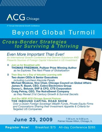 Conference Brochure - ACG Chicago