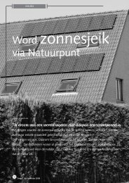 jg7_nr3_wordt zonnesjeik via Natuurpunt.pdf - Natuurpunt Gent