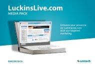 LuckinsLive.com MEDIA PACK - Amtech