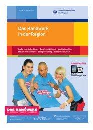 Das Handwerk in der Region - Handwerkskammer Reutlingen