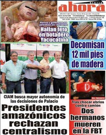 Diario Ahora Jr. Ricardo Palma # 1199 Tlf. 525026 Avisos RPM ...