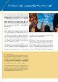 Logopediewetenschap - Universiteit Utrecht - Page 2