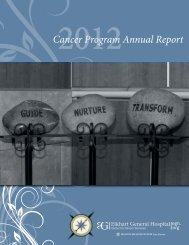 Cancer Program Annual Report - Elkhart General Hospital