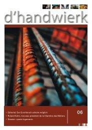 d'handwierk 06 - Fédération des Artisans