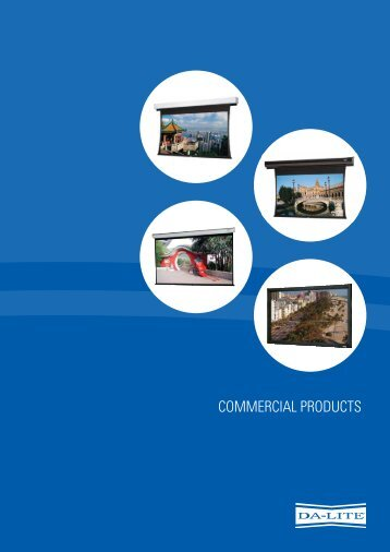 CommerCial ProduCts - Output