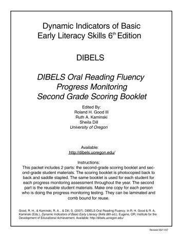 research papers on construction of the dibels test Writing topics supplement essay for research papers on construction of the dibels test johns research papers and other esl research paper writing site.
