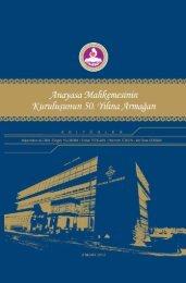 Anayasa Mahkemesinin Kuruluşunun 50. Yılına Armağan