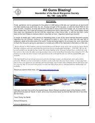July - The Naval Wargames Society