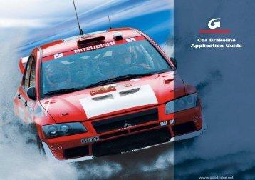 CAR APP GUIDE - BGC Motorsport