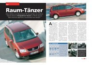 Neben Multivan und Sharan bietet VW nun auf Basis des nächsten ...