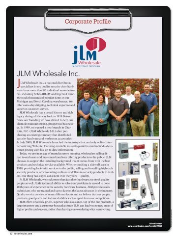 JLM Wholesale Inc.