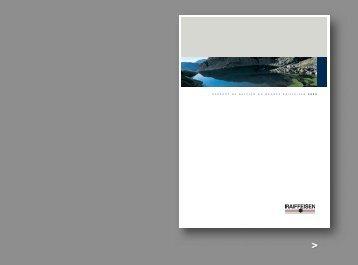 Rapport de gestion 2003 du Groupe Raiffeisen
