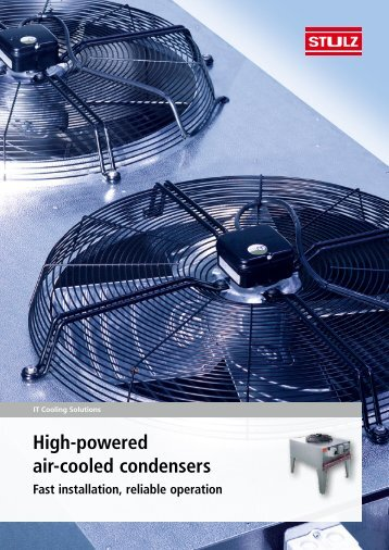 Condensers KSV/KLV Brochure - Stulz