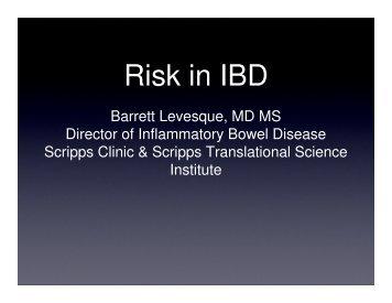 Risk in IBD