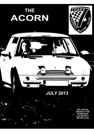 Jul - Sevenoaks & District Motor Club
