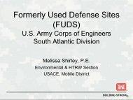 MS Tier II FUDS Presentation Nov 2010
