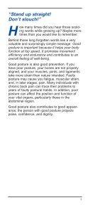 secret. Good Posture - Page 3