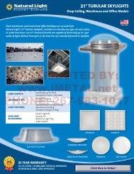 commercial skylight - iMetal