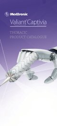 Thoracic Stent Graft Delivery System Valiant® Captivia - Medtronic