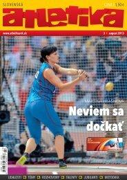 Slovenská atletika 3/2013 - Slovenský atletický zväz