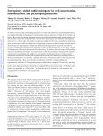 Isotropically etched radial micropore for cell concentration ... - Page 2