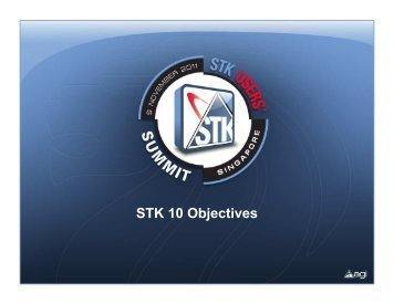 STK 10 Overview - AGI