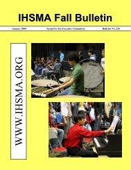 Fall Bulletin No. 235 - August 2009 - The Iowa High School Music ...
