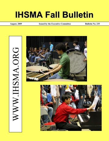 Fall Bulletin No. 235 - August 2009 - The Iowa High School Music ...