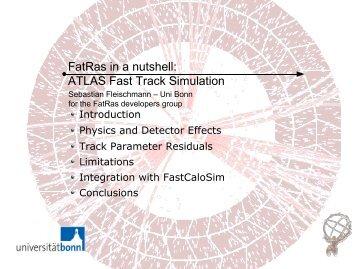 ATLAS Fast Track Simulation - fleischmann-netz.de