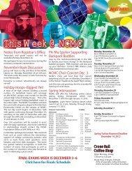 nov_26_2012 - North Central Missouri College