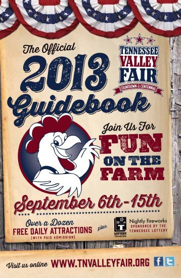 Guidebook Guidebook - Tennessee Valley Fair