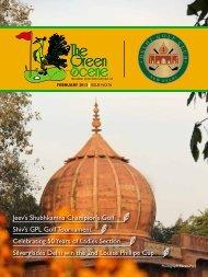 issue no-76 - feb - The Delhi Golf Club