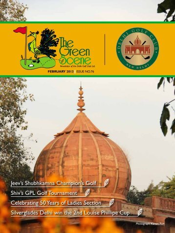 issue no-76 - feb - The Delhi Golf Club
