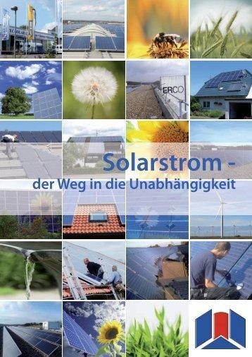 Prospekt Solarstrom - Sotec Solar