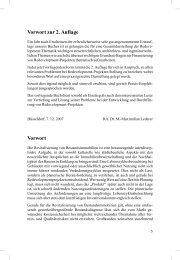Vorwort zur 2. Auflage Vorwort