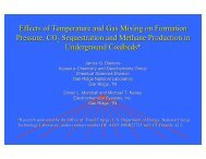 Effects of Temperature and Gas Mixing on Formation ... - Coal-Seq
