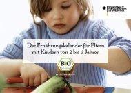 Der Ernährungskalender für Eltern mit Kindern von 2 bis 6 ... - Krefeld