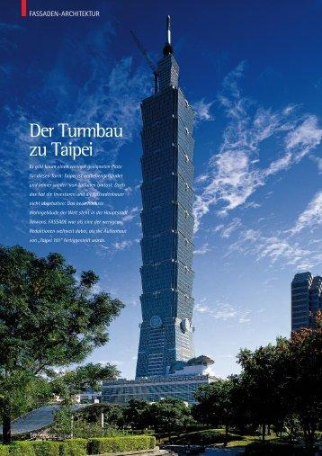 Der Turmbau zu Taipei - Fassade