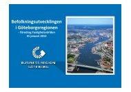 Befolkningsutveckling i regionen - Fastighetsvärlden