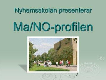NO-profil på Nyhemsskolan