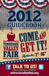 GUIDEBOOK - Tennessee Valley Fair