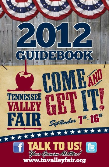 GUIDEBOOK - Tennessee Valley Fair