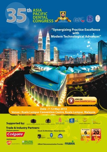 Conference Flyer Download - Malaysian Dental Association