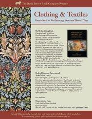 Clothing & Textiles - Oxbow Books
