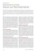 Warten auf Rechtssicherheit - SKW Schwarz - Seite 2